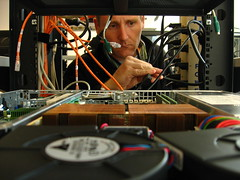 audio engineer, electronics, person,