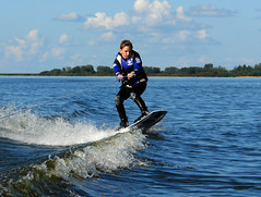 wakesurfing, surface water sports, surfing--equipment and supplies, boardsport, wakeboarding, sports, sea, wind wave, extreme sport, water sport,