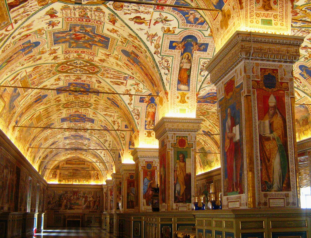 Vatican Museums - Library