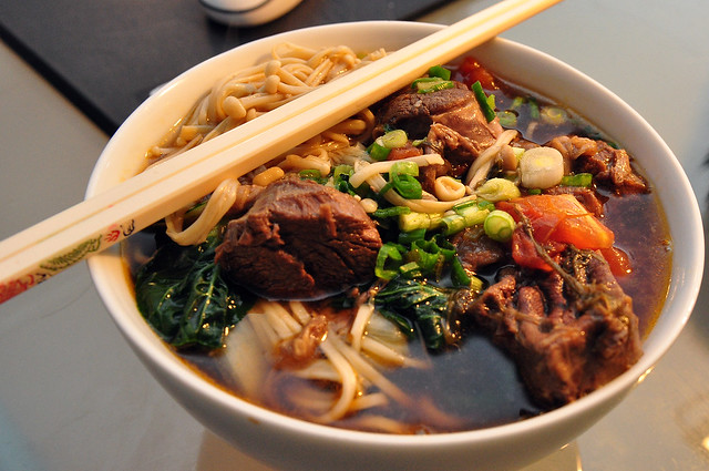 Taiwanese Beef Noodle Soup (牛肉麵) | Flickr - Photo Sharing!