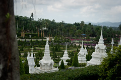 French Garden , Nong Nooch Tropical Garden