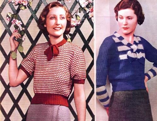 55f2302c49 Vintage 1930s Sweaters