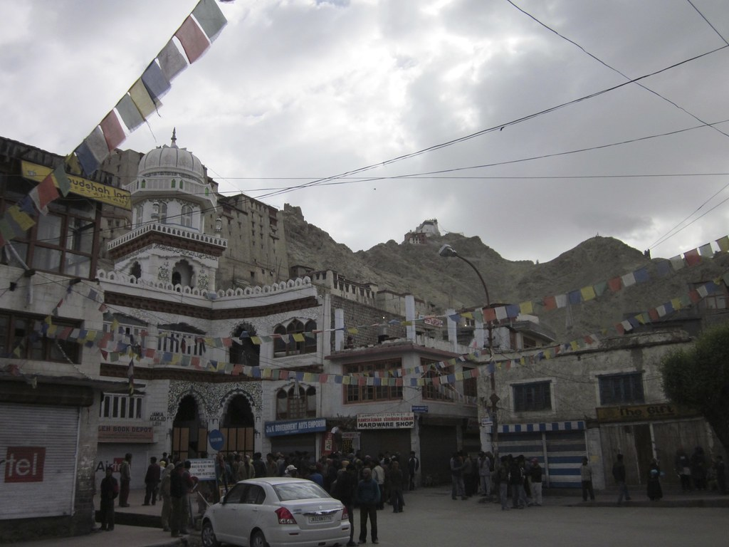 View of Leh, India