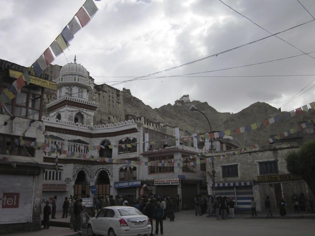 View of Leh, India