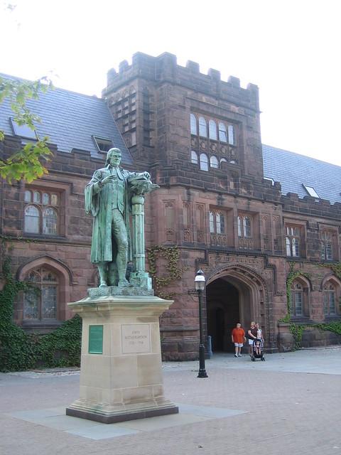 John Witherspoon 39 S Sculpture In Princeton U Explore