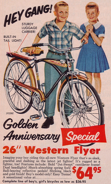It S 1959 Western Flyer Bicycle Flickr Photo Sharing