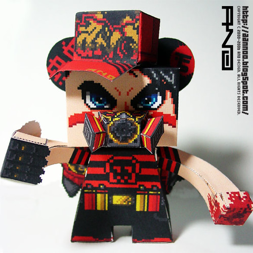 ANO X PP PAPER TOY