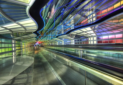 The Underground Peoplemover to the International Terminal