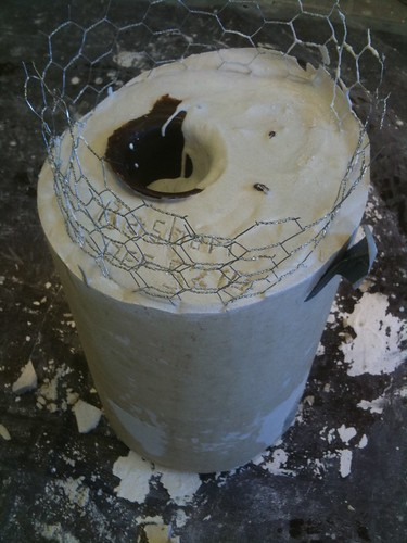 Cured plaster mold