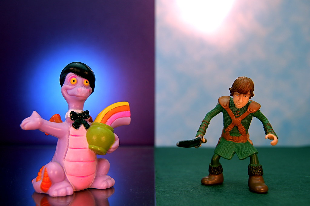 Figment vs. Hiccup (295/365)