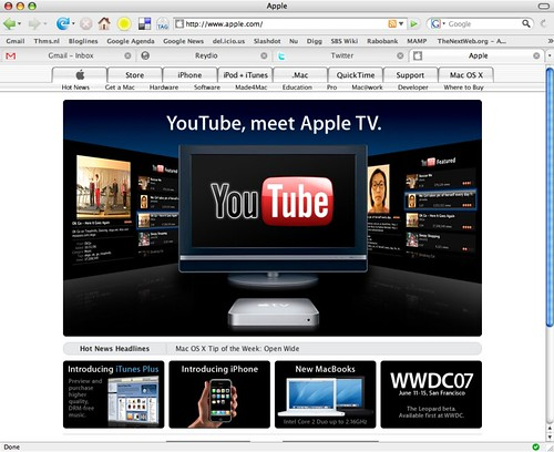 apple tv 2 how to add youtube