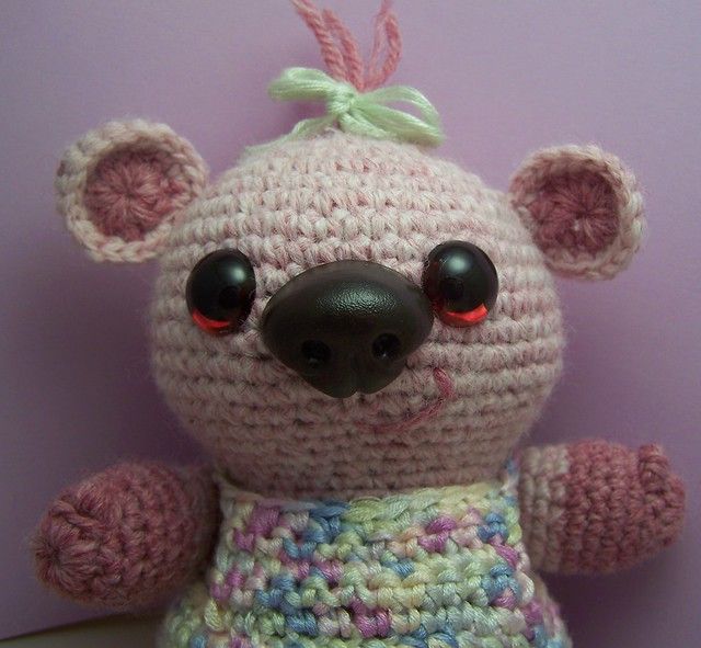 Crochet Pattern - Super Easy Teddy Bear | Gather