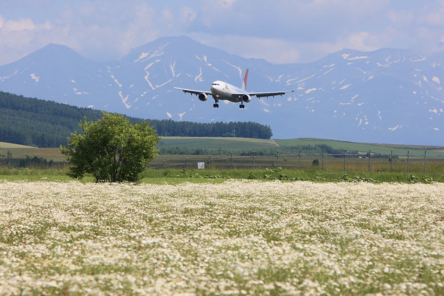Photo:Approaching to RJEC against the background of mountains By:double-h