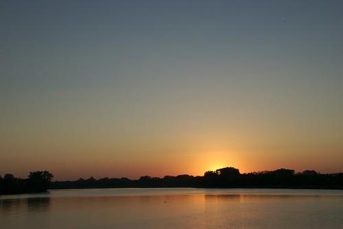 sunset vacation iowa laborday salix