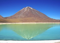 mountain, loch, lake, crater lake, mountainous landforms, volcanic landform,