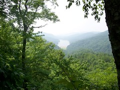 Lake Jocassee from The Wilds