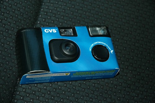 how much is it to develop a disposable camera at cvs