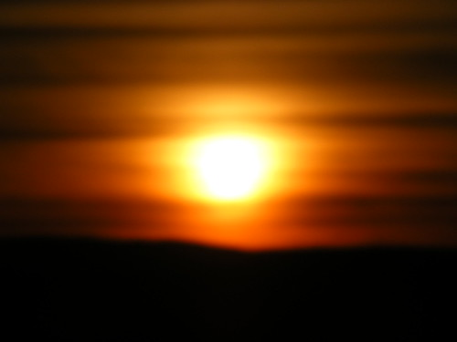 Sun set in the Cairngorms