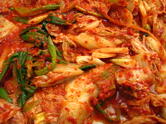 pickled foods(0.0), side dish(0.0), asam pedas(0.0), produce(0.0), tteokbokki(0.0), kimchi jjigae(1.0), dak galbi(1.0), food(1.0), dish(1.0), cuisine(1.0), kimchi(1.0),