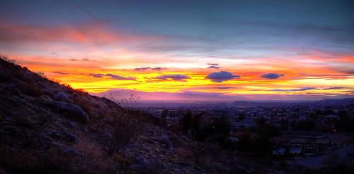 california sky clouds desert hdr applevalley