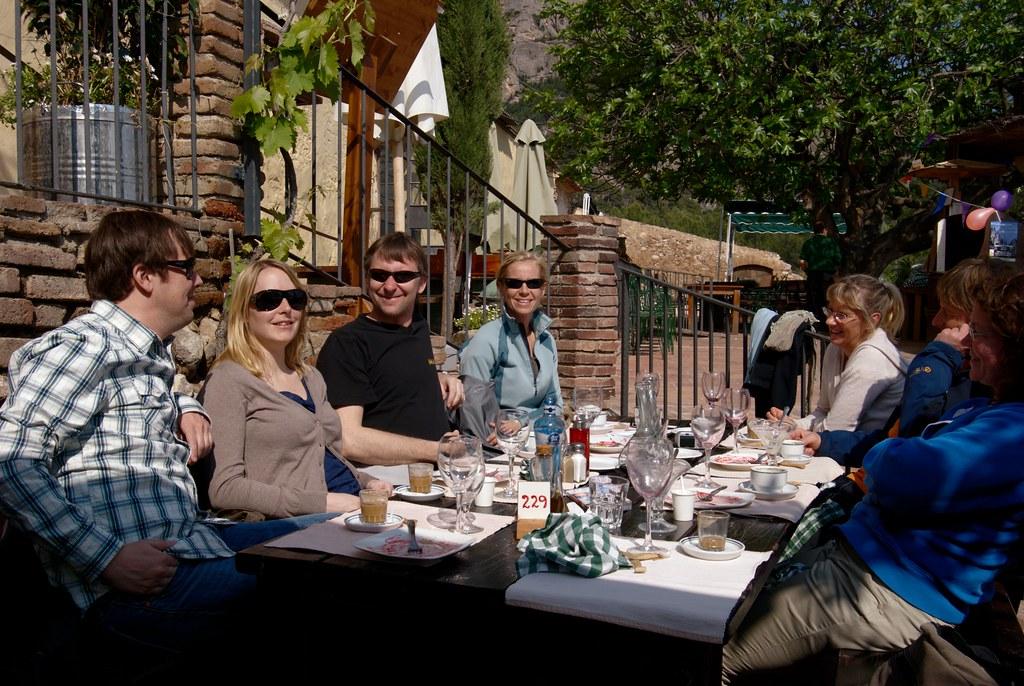 Lunch på Vinya Nova