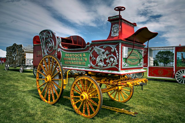 Bostock & Wombell's Menagerie Wagon