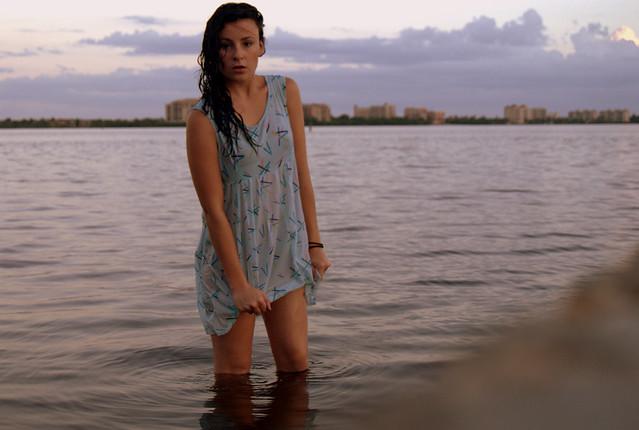 See through Summer Dress