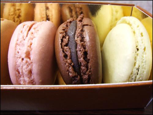 Chuckeats la maison du chocolat ny paris london for Macarons la maison du chocolat