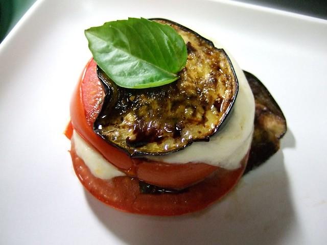 Eggplant Caprese   Flickr - Photo Sharing!