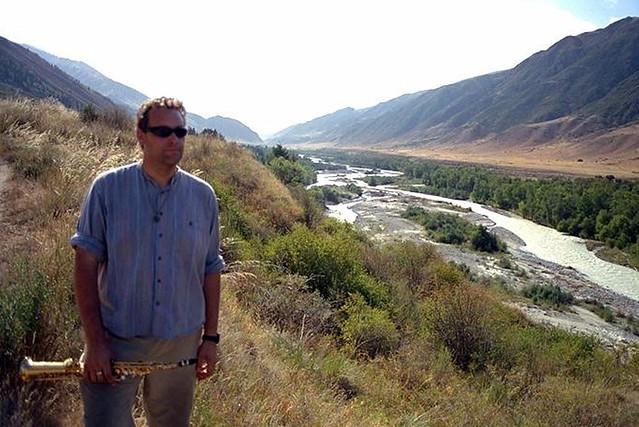 Gary Hayes - Soprano Sax in Kazakstan