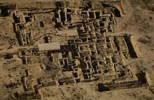 An Archeological Site in Failakah (Ikarus) Island