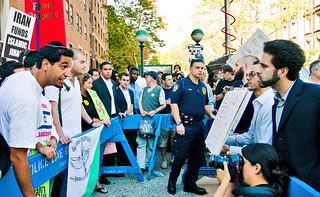 Ahmadinejad Protesters