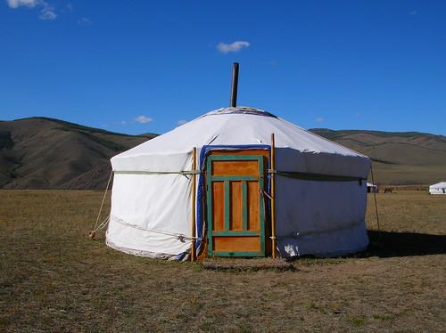 Khan Khentii Ger Camp at Jalnan Meadows, Ulan Bator, Mongolia