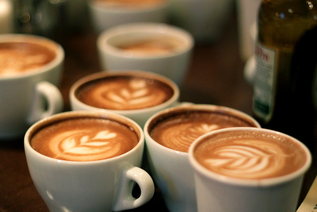 Coffee Kids latte art throwdown