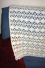 Weekly Gathering: Free Crochet Patterns Roundup | The ... |Diamond Trellis Pattern Red Heart