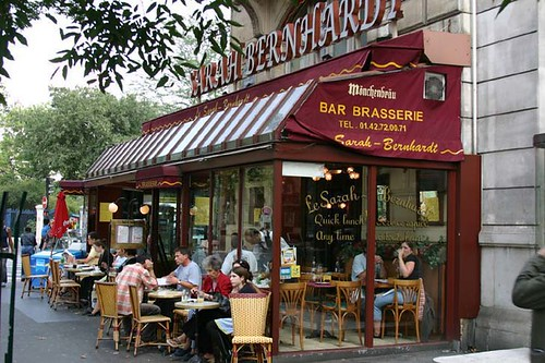 The Sarah Bernhardt Cafe in Paris