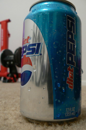 Diet Pepsi & Mag Trainer by qnr, on Flickr