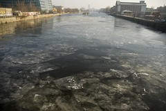 Berlin ice flows