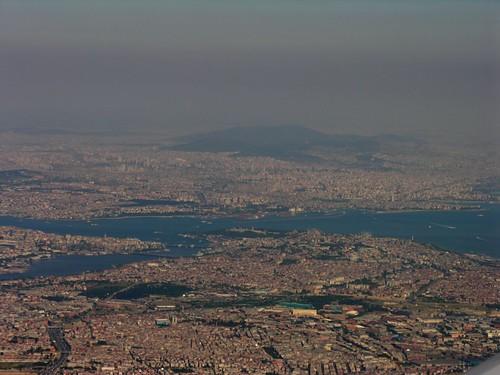 Isztambul madártávlatból