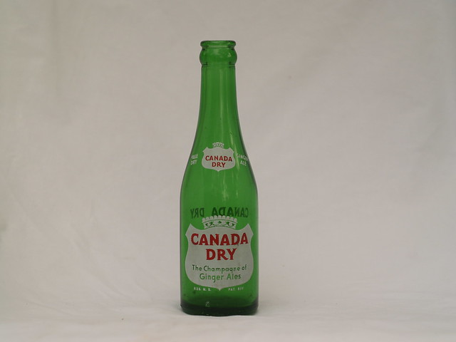 Canada Dry bottle | Flickr - Photo Sharing!
