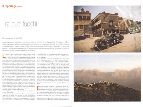 magazine algeria kabylie feature tearsheet peacereporter coverstory