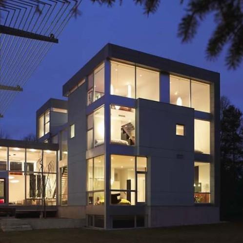 Interior design toronto modern glass house minimalistic for Modern house design toronto