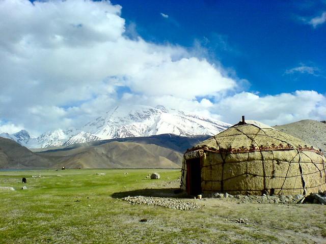 Kyrgyz Yurt At Karakul Lake