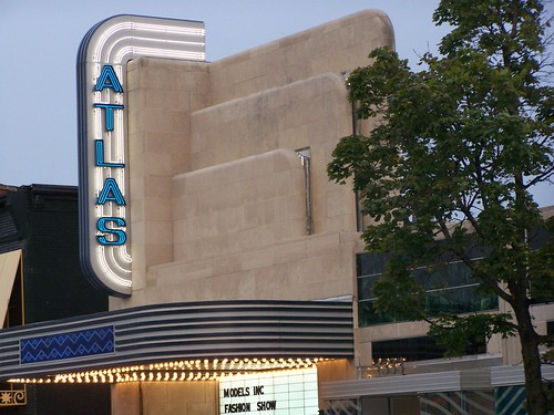 Atlas Theater marquee