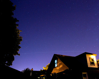 ISS + Endeavour due north