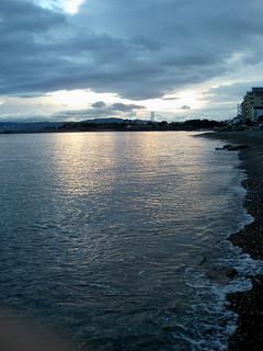 take a walking on the beach