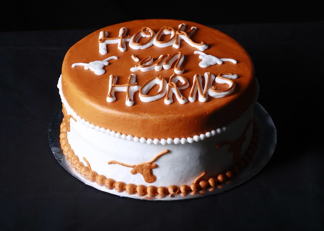 texas longhorns birthday cakes