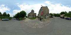 Church of Auvers-sur-Oise (Van Gogh's view)