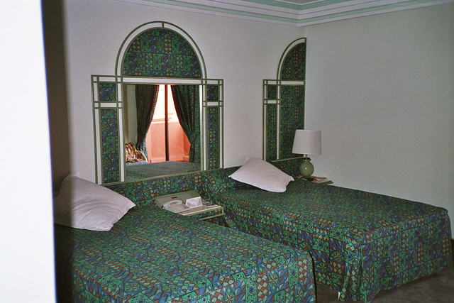 Our Hotel Room in Marrakesh