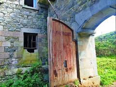Fort Tourgis Door - Alderney